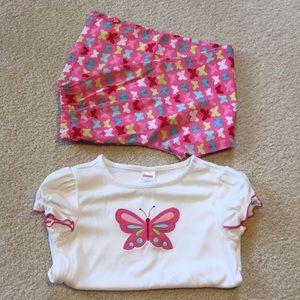 NWT Gymboree pajama set size 8